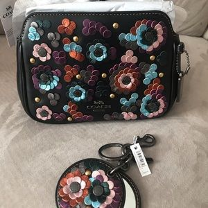 New COACH Crossbody and Keychain